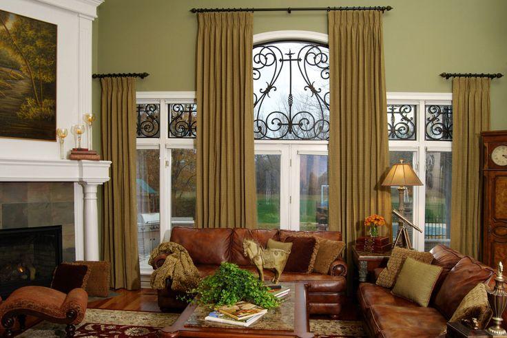 curtain ideas for large windows in living room bars sale fun window treatments | ... treatment