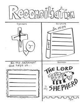 Sacrament of Reconciliation Booklet