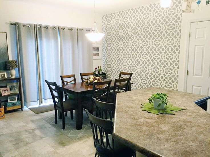 247 Best Stenciled & Painted Dining Rooms Images On Pinterest