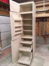 Tall Corner Pantry Cabinet - WoodWorking Projects & Plans