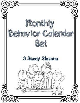 25+ best Monthly behavior calendar ideas on Pinterest