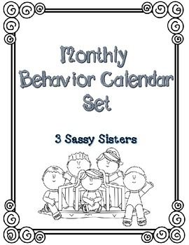 17 Best ideas about Behavior Calendar on Pinterest