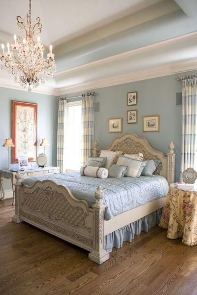 blue and cream bedroom Master bedroom cream and blue | Очаровательный шебби шик | Pinterest | Beautiful, Blue master