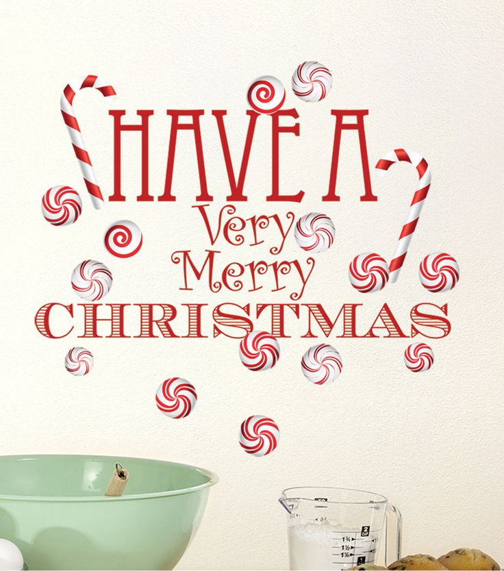 DCWV Home Christmas Wall Decal: Have a Very Merry