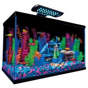 Glow Fish Tanks And Birthday Presents On Pinterest