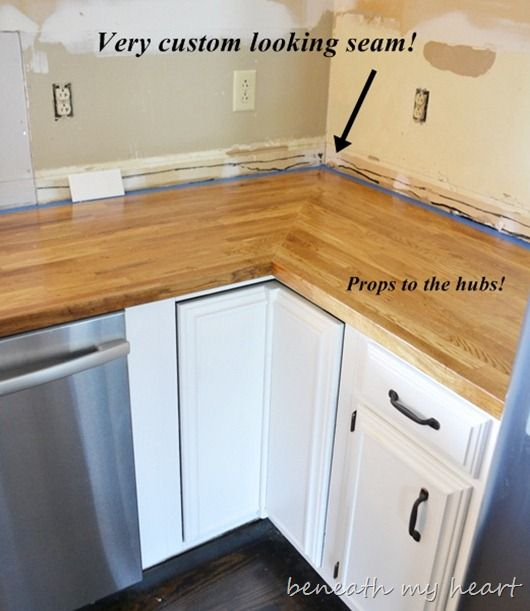 How To Attach Dishwasher To Countertop Ikea Butcher Block Countertop {answers To Your Questions
