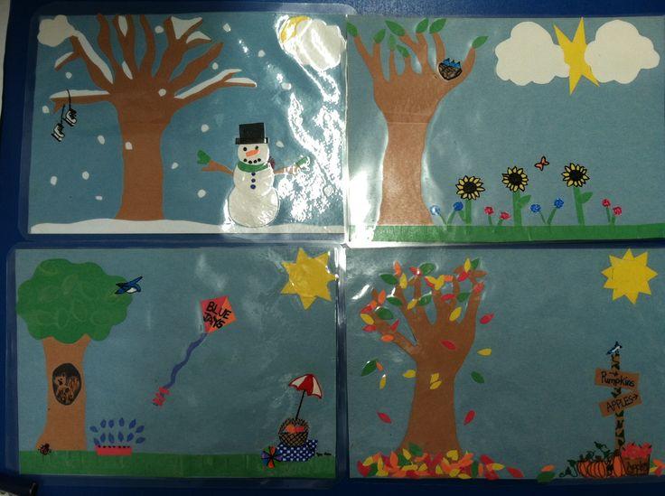 1000 Images About Preschool Seasons On Pinterest Nick