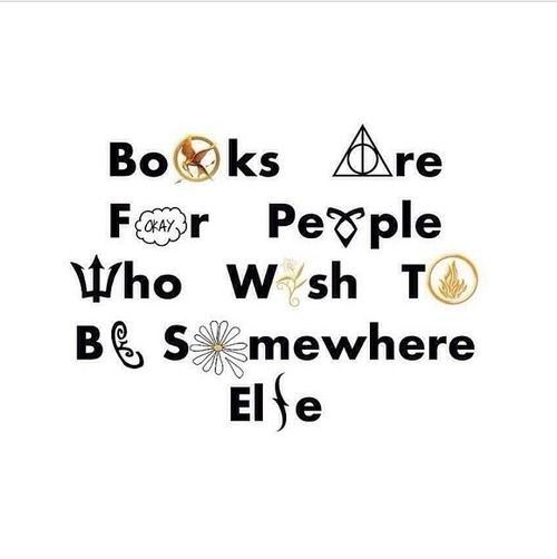 The Hunger Games, Harry Potter, The Fault in Our Stars