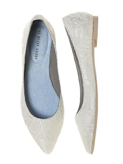 15 Mustsee Lace Wedding Flats Pins  Bride shoes flats