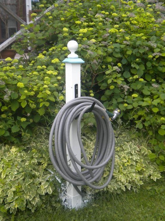 17 Best Ideas About Garden Hose Storage On Pinterest Garden Hose