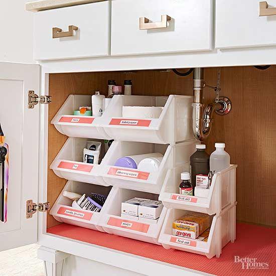 25 best ideas about Bathroom vanity organization on