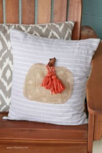 25+ best ideas about Pumpkin pillows on Pinterest | Burlap ...