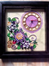 17 Best images about Quilling - Clocks on Pinterest ...
