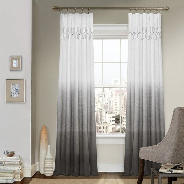 25 Best Ideas About Grey And White Curtains On Pinterest Living