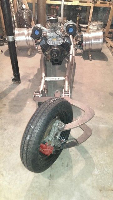 Home building a V8 Trike Motorcycle with C5 Corvette suspension Building a V8 Trike Motorcycle