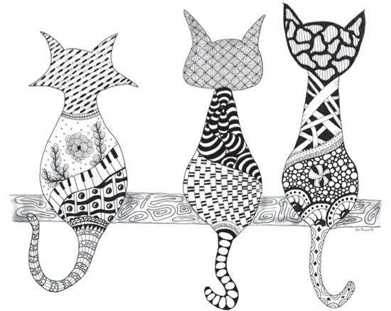 56 best images about Zen Doodle Art on Pinterest