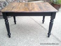 83 best images about FARMHOUSE TABLE on Pinterest | Black ...