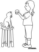 8 best images about If You Give a Cat a Cupcake Printables