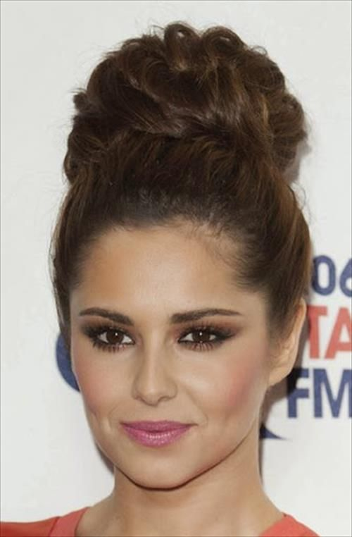 25 Best Ideas About High Bun Hairstyles On Pinterest Messy Bun