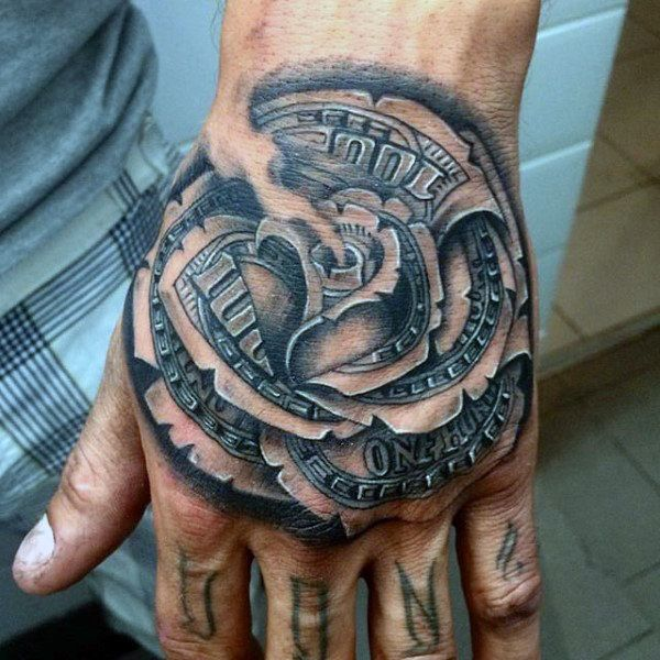 20 For Tattoos Money Men Signwrist Ideas And Designs