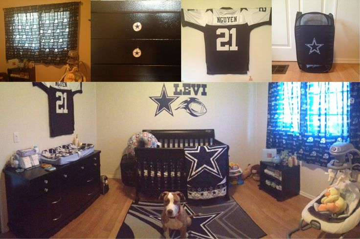 black and white themed living room ideas window coverings 25 best images about dallas cowboys rooms & (wo)man caves ...
