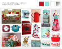 Collage of retro 50s kitchen ideas | Kitchen Chic ...