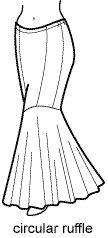 17 Best ideas about Mermaid Skirt Pattern on Pinterest