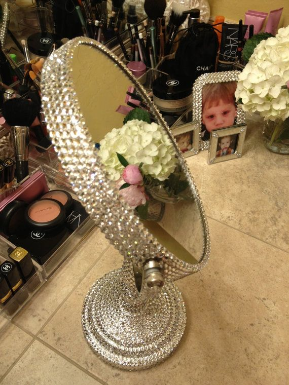 purple makeup vanity chair kitchen table and sets under 200 1000+ ideas about bling bathroom on pinterest | accesories, shower curtains ...