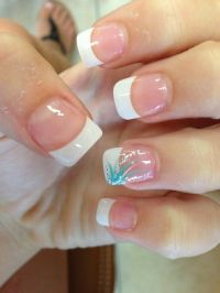 1000+ ideas about Summer French Nails on Pinterest ...