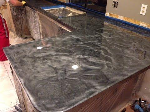 resurface kitchen countertops corner cabinet storage top 25+ best epoxy countertop ideas on pinterest | bar ...