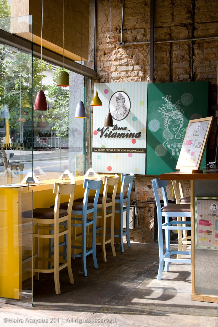 Dona Vitamina  Estdio Super Limo  Restaurantes e Cafs  Pinterest  So cute Sao paulo and