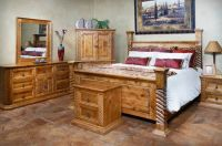 Bedroom Furniture Tempe   Rustic Sante Fe and Mexican ...