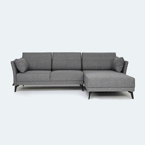 Jervis L Shape Sofa  Grey  Things to buy  Pinterest  Grey L shaped sofa and Shape
