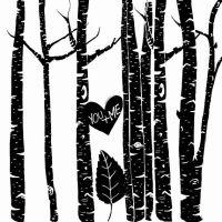 Birch Tree Clip Art, Winter Forest, Tree Branch ClipArt ...