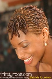 natural hair style comb coils