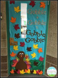 25+ best ideas about Thanksgiving classroom door on ...
