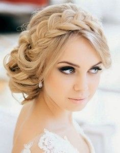 25 Best Ideas About Strapless Dress Hairstyles On Pinterest