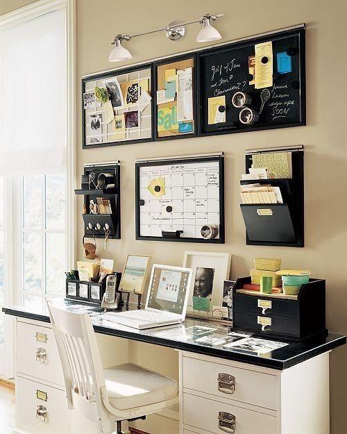 Ideas para organizar tu oficina en casa  Casa nueva  Pinterest  Ideas Para and Ideas