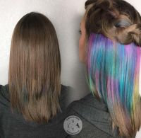 25+ Best Ideas about Peekaboo Hair Colors on Pinterest