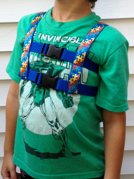 chair back brace louis ghost chairs special needs harness | daniel pinterest autism, and pink