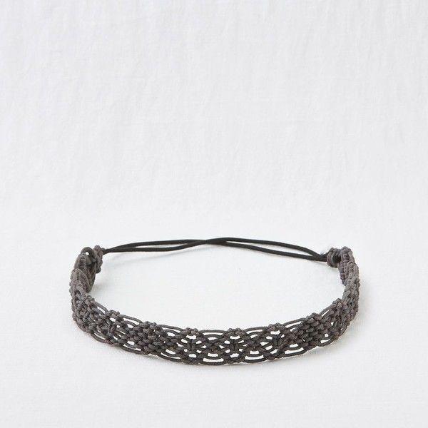 25+ best ideas about Macrame headband on Pinterest