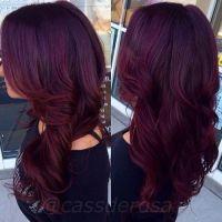 Best 20+ Dark burgundy hair ideas on Pinterest