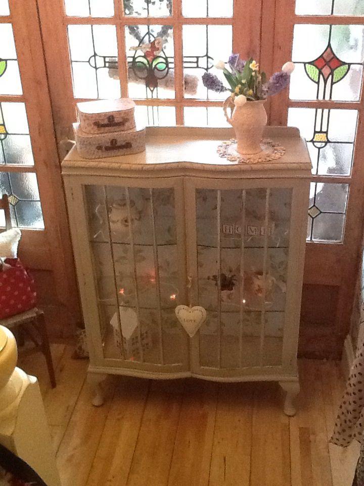 kitchen corner cabinet shelf narrow island with seating upcycled china | upcycling pinterest cabinets ...