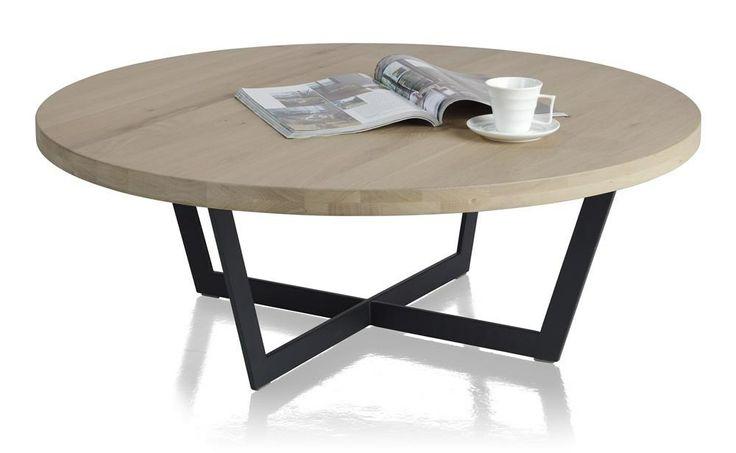 Seneca salontafel rond 100 cm  salontafel  Pinterest