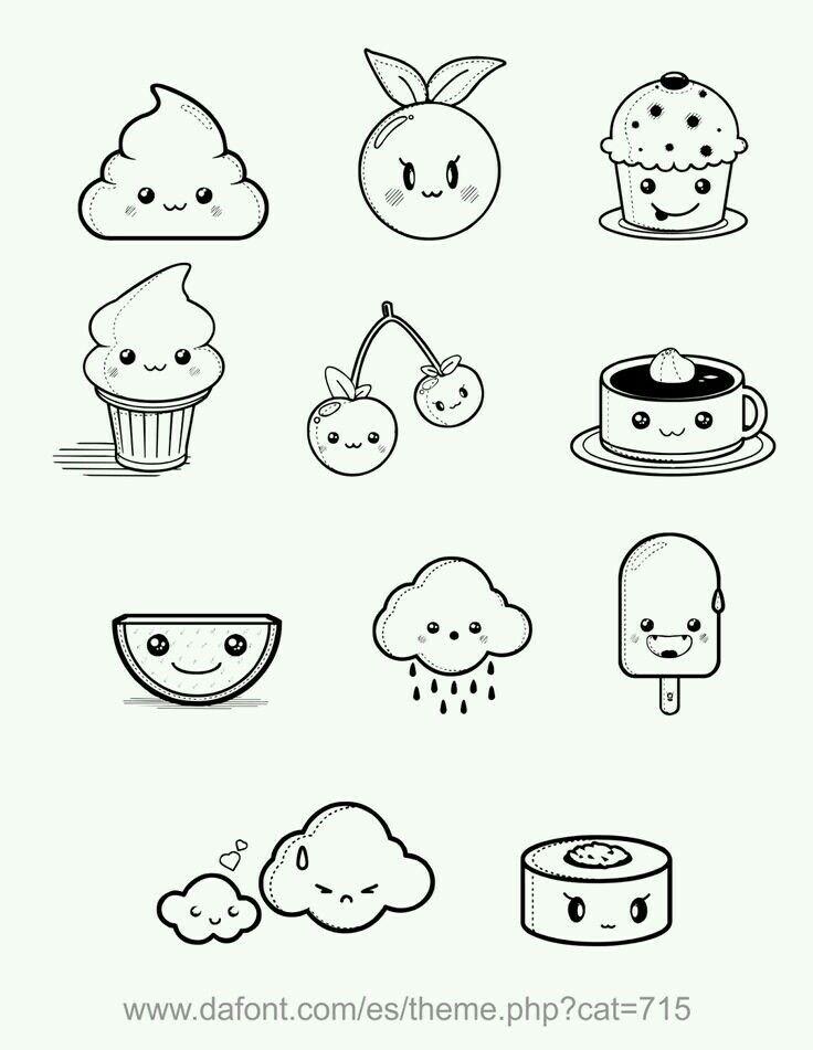 Best 20+ Cute food drawings ideas on Pinterest