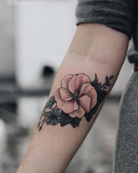 Best 25 Forearm flower tattoo ideas on Pinterest Floral