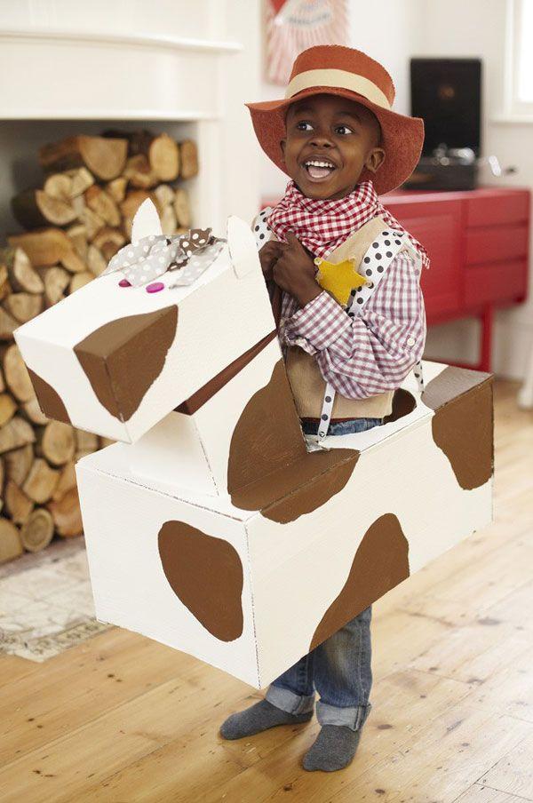 disfraz casero vaquero