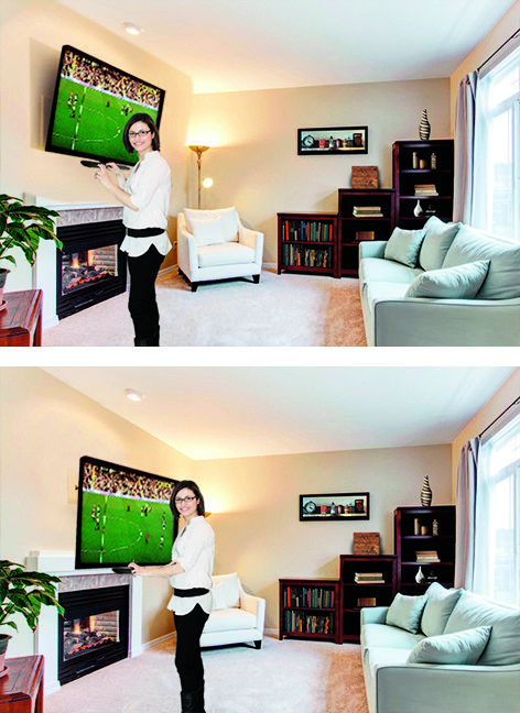 How High To Mount Tv In Bedroom | Rickevans Homes