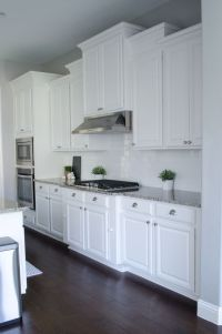 25+ best ideas about White Kitchen Cabinets on Pinterest