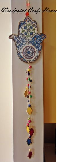 25+ best ideas about Hamsa painting on Pinterest